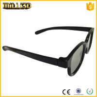 Quality factory passive circular/linear polarized 3d glasses for cinema for sale