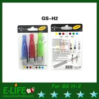 Wholesale Real GS H2 Clearomizer E Cigarette Atomizer with 1.8/2.4/2.8 ohm GS-H2 with 2 kind Package from china suppliers