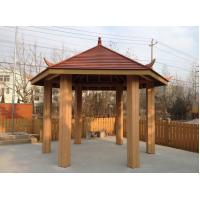 Wholesale WPC Construction Pergola , Waterproof And Weather-resistant WPC Material from china suppliers