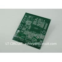 Wholesale Double Sided 3oz Blank Copper Pcb Board Immersion Silver Plating Green Solder Mask from china suppliers