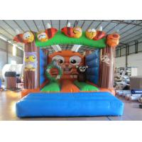 Outdoor Games Custom Made Inflatables Safe Waterproof Enviroment - Friendly inflatable bounce house