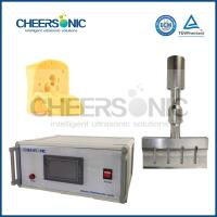 Wholesale Commercial Ultrasonic Cheese Cutting Machine With CE Certificate from china suppliers