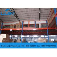 Wholesale Customized Metal Industrial Mezzanine Floors Racking System Powder Coated from china suppliers