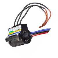 3 Circuits Rotating Wind Turbine Slip Ring Electrical Data Carbon Brush ,Contact 1000V AC/DC
