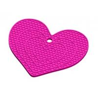 Wholesale Heart-shaped round circle Honeycomb silicone insulation table mat from china suppliers