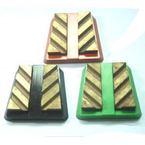 Wholesale Aluminum base Diamond Frankfurt Grinding Block from china suppliers
