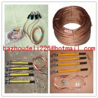 Buy cheap Short circuiting rod&H.T Discharge Rod,portable earth rod set from wholesalers