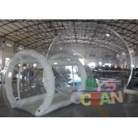 Wholesale Rental Commercial Inflatable Clear Bubble Tent For Outdoor Camping from china suppliers