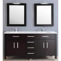 Wholesale Classical Double Sinks Wooden Bathroom Vanity (BL-S8087) from china suppliers