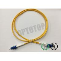Wholesale LC / UPC - LC / UPC OS2 Single Mode Optical Patch Cord 2f Zip 2.0mm Ofnr Corning Smf-28 Ultra from china suppliers