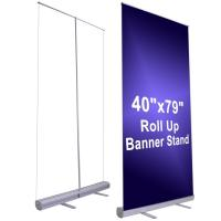 Wholesale 150cm Width Large Stand Up Banner Roll Up Advertising Banners from china suppliers