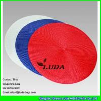 Quality LUDA pp braided tabel placemats round personalized placemats canada for sale