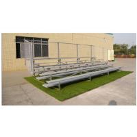 Wholesale Durable 3 Row Aluminum Portable Bleachers Grandstand Retractable Bleacher Seating from china suppliers