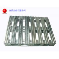 Wholesale Galvanised Stackable Steel Pallets Loading Firmly 2 Way Or 4 Way Entry Type from china suppliers