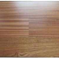 Wholesale sapele engineered hardwood floors, sapele floating floors, natural color, semi-gloss, flat surface from china suppliers