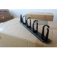 Wholesale Network 1U Cable Manager with 5 Rings Distachable Cable Management from china suppliers