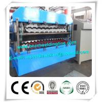 Wholesale CE Approvals Double Layer Roll Forming Machine for Metal Deck And Steel Tile from china suppliers