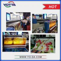 Wholesale Roll to roll uv hybrid printer for adhesives 3d wallpapers print machine from china suppliers