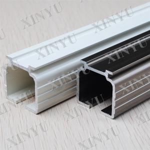 Wholesale Wooden Grain European Fixed Aluminium Sliding Door Profiles Consist with Turn / Tilt Door from china suppliers