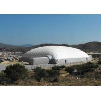 Wholesale Durable Super Giant Inflatable Tent White Air Building Structure For Tennis Playing from china suppliers