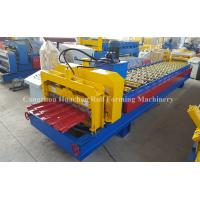 Quality Panel Glazed Tile Roll Forming Machine / Roll Forming Equipment For Steel Construction for sale