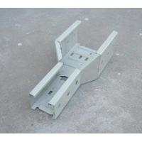 Wholesale Solid Bottom Perforated Type Galvanised Steel Cable Tray Spare Parts from china suppliers