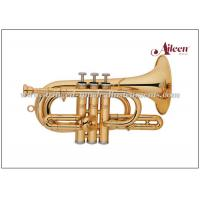 Wholesale Lacquered Brass Spainish style China Brass Cornet ( CN8713G) Brass Music Instruments from china suppliers