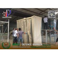 Wholesale MIL19 2.74m high HESLY Military Defensive Barriers | HESCO China Gabion Barrier from china suppliers