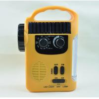 Wholesale RD339 Solar Dynamo Powered AM FM Radio with 5 LEDs Flashlight 8 LEDs Emergency Lamp For Outdoor Activities from china suppliers