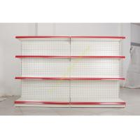 Wholesale Single - side Store / Supermarket Display Shelving with 4 Layers Perforated Back Panel from china suppliers