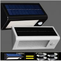 Wholesale High Quality Solar Wall Lights Waterproof LED Outdoor Solar Lighting PIR Sensor Light from china suppliers
