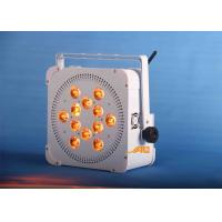 Wholesale 12 x 18w  UV 6 in 1 Battery Spot Light Long Life For Wedding / Store from china suppliers