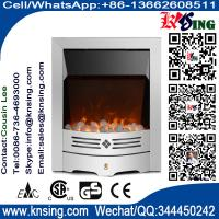 Wholesale insert and freestanding  electric fireplace heater crystal LED flame effect IF-1319 built-in electric stove with mantel from china suppliers