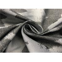 China Rich Color Graphic Print Fabric For Jacket , 100 Polyester Fabric Jacquard Style for sale