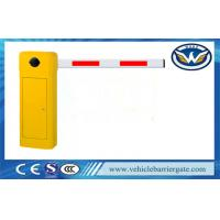 Wholesale Intelligent Car Park Barrier System , Electric Barrier Gate Straight / Folding / Fence from china suppliers