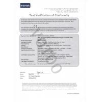 VOTOO(CHINA)CO., LIMITED Certifications