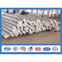 Buy cheap 3mm Thickness Octagonal Shape Galvanized Electric Steel Poles from wholesalers