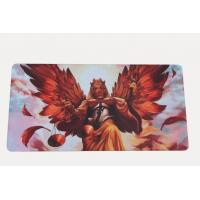Wholesale Natural Foam Rubber Play Mat For Trading Cards With Polyester Fabric Surface from china suppliers