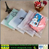 Buy cheap Clear Plastic Slider Zipper Bag for Clothes Packing from wholesalers