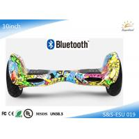 Wholesale Electric Self Balancing Scooter Music Playing , 10 inch Smart Electric Scooter from china suppliers