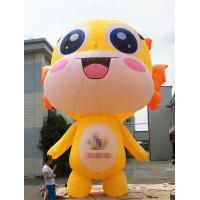 Quality Promotional Activities Yellow Inflatable Cartoon Characters 3 Years Warranty for sale