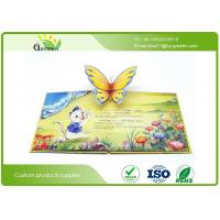 Wholesale Customized Eco Friendly Children Snappy Pop Up Books With Letterpress Printing from china suppliers