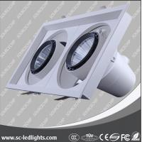 Buy cheap 3 years warranty cob ultra slim 60w led recessed downlight from wholesalers
