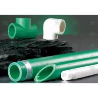 Wholesale Green PPR Water Pipe and Fittings Pipe Ppr Plastic Tube for Cold / Hot Water from china suppliers