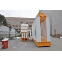 Quality Automatic Cylcone Painting Booth  With Seond Filter Recovery System for sale