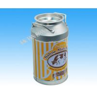 Wholesale D84 Milk Bottle Shaped Metal Tin Packaging Box Storage For Christmas Holiday from china suppliers