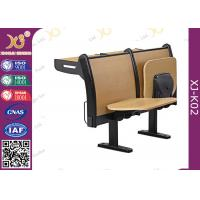Wholesale Plywood Seat Back Folded Tablet School Student Desk Chair with Fire - Proof Plate from china suppliers