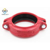 Wholesale CCC FM UL Good quality Rigid Coupling Ductile iron grooved fittings from china suppliers
