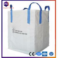 Wholesale Food Grade Flexible Intermediate Bulk Bag 1 - 1.5 ton FIBC Big Bag from china suppliers