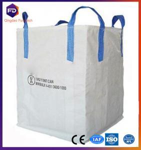 Quality Food Grade Flexible Intermediate Bulk Bag 1 - 1.5 ton FIBC Big Bag for sale